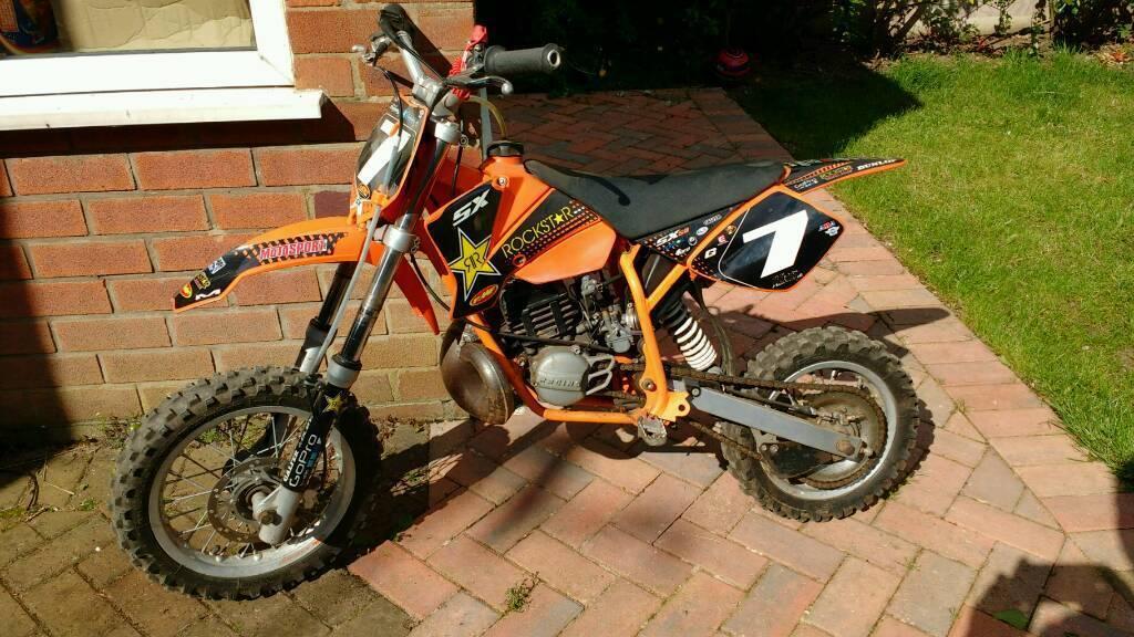 ktm 50 sx ready to race motocross mx bike 50cc auto