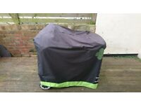 Weber coal barbecue with cover