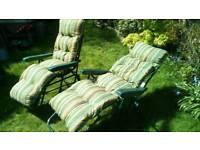 X2 Sun loungers / sun relaxers