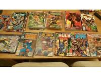 Job lot dc and marvel comics see pics