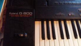Keyboard ROLAND G 800 + SOUND
