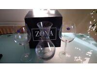 New Bohemia Glasses & Carafe Set