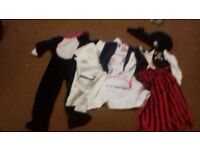Childrens dressing up clothes age 3-5 years