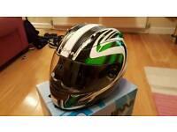 Duchinni Motorcycle Helmet. Large
