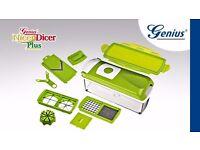 ( BRAND NEW) Nicer Dicer Plus: Multi-Chopper, Cutter & Slicer + Bonus Peeler