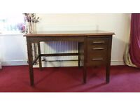 Solid wooden desk beautiful condition