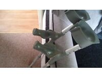 Elbow Crutches with grip Handle