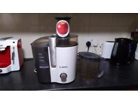 Bosch juicer £15