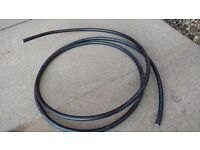 Armoured cable, three core, 4mm2. Approx 3.5m length. New.