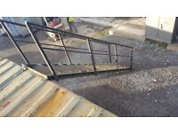 CONTAINER STAIRS 13 STEPS AND HAND RAIL 20FT / 40FT UPPER OFFICES/ BUILDING SITES