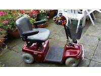 MOBILTY SCOOTER FOR SALE COMES WITH RAMPS AND INFFATOR