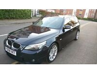 BMW 525D M Sport Touring - Full BMW Service History, 1 YEAR MOT and recent service