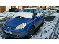 2005 Renault grand scenic 7 seater