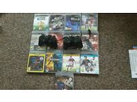 Ps3 160gb 2 controllers and 13 games