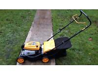 mcculloch 450 petrol lawnmower with grass box