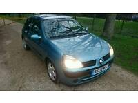 RENAULT CLIO 1.2 NOT FORD FIESTA VW GOLF FIAT PUNTO VW POLO PEUGEOT