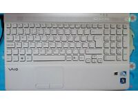 Sony Vaio Laptop (White) £60, Windows 10, Doesn't hold charge