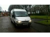 2005 Ford Transit Mwb 2.0 diesel runs and drives well centreal locking side door