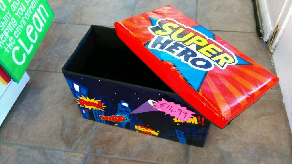Children's toy box (New) boys or girls