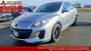 2013 Mazda MAZDA3 GX FOR ONLY $85 BW IN MAY ONLY!