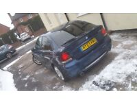 Bmw 318ti compact m sport 145k in mint condition long mot hpi clear Px swap