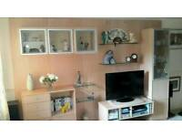 LARGE SOLID WOOD DANISH UNIT COST WHEN NEW £3.500