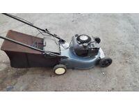 quantum xm powered performance power petrol lawn mower