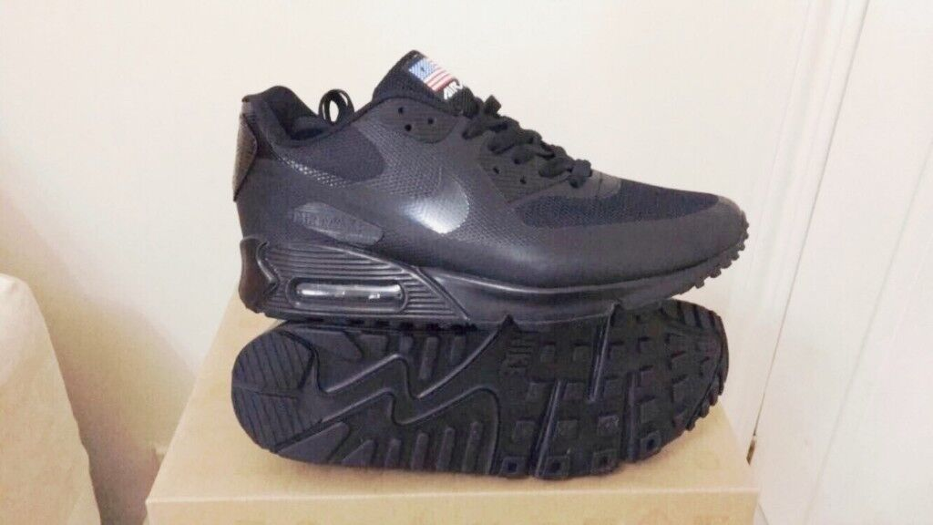 brand new d4cdd 129f1 ... sale nike air max 90 hyperfuse black independance day all sizes inc  delivery paypal xxc in