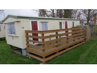 Holiday Caravan in Priory Hill holiday Park to rent for £350 p/w Leysdown-on-sea, Kent