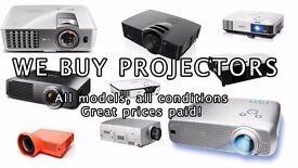 Projector's Wanted! Best prices paid! Working or faulty!