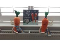 Kevin & Katie Carrot with Story Book