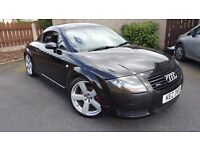 Audi TT 225 Quattro.PRICE DROP19-RS6alloys-NNT,MOTmarch18. Full service- many parts fitted.