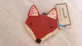 BNWT Sass and Belle 'Paddy the Fox' purse ~ less than half price