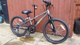 Kids bike. VG condition. Seat height 62cm. Wheel 50cm diameter.