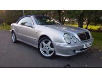 Mercedes-Benz CLK 3.2 CLK320 Elegance 2dr 1 OWNER+LOW MILEAGE+FSH