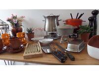 Kitchenware John Lewis, John Rocha, Cole & Mason, Bodum, Lion, Zara, Robert Welch, etc