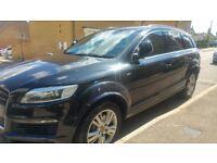 For sale Audi Q7 3.0 tdi s line. full spec. 11500 ono.