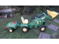 Rolly Toys Pedal Tractor Trailer