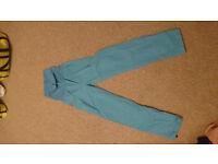 E9 Boulder/Climbing pants 'Andrea', blue, size M