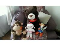 Huge cuddly toys and extras