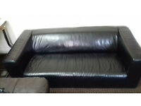 Sofa Leather-Black