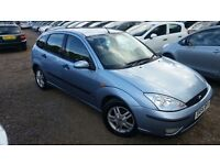 Ford Focus 1.8 i 16v Zetec 5dr, 1 YEAR MOT, HPI CLEAR, DRIVES SMOOTH, FIRST COME WILL BUY
