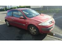 RENAULT MEGANE DIESEL1.5 DCI 2005 65+ VERY ECONOMICAL CHEAP TO RUN & INSURE £30 TAX YEAR