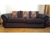 2 Big Size Sofas and 1 Medium Size Sofa for Sale in Very Good Condition (* HOUSE CLEARANCE *)
