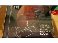Plan B signed album