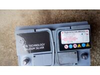 Car Battery 12 volt stop and start