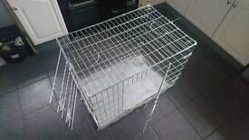 Large metal dog cage as new £40ono