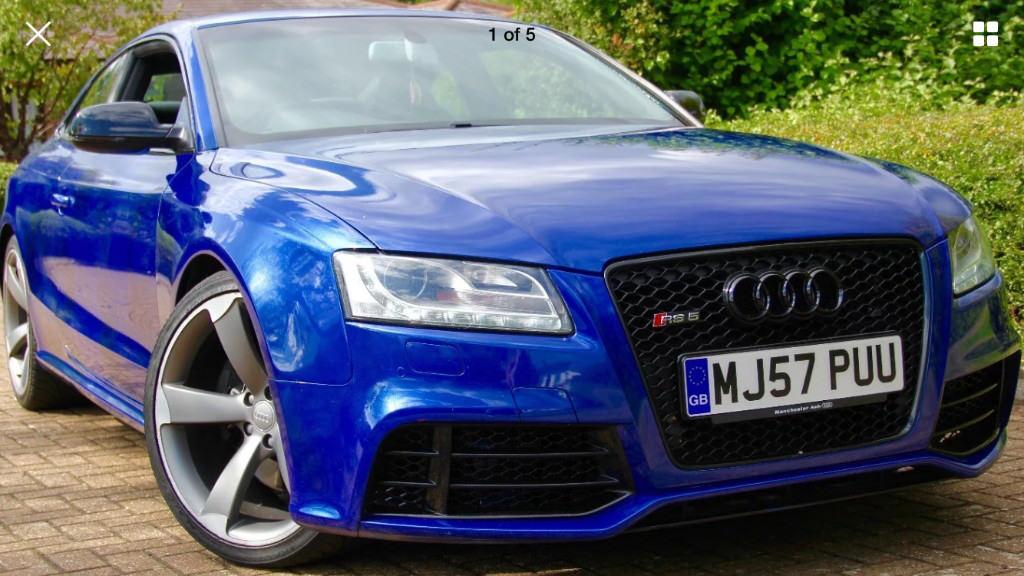 AUDI RS FSI QUATTRO V S RS SEPANG BLUE SAT NAV BO - Audi s5