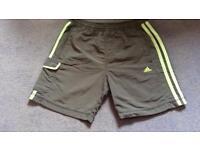 Adidas boys shorts age 8-10yrs.
