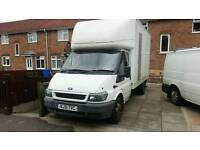 Transit luton lwb full mot ready to work